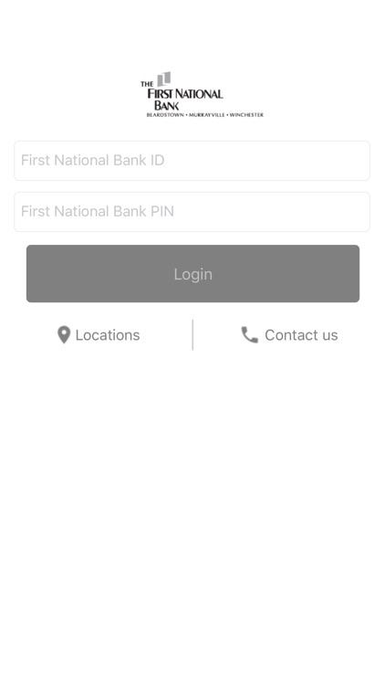 1st Nat'l Bank Mobile Banking