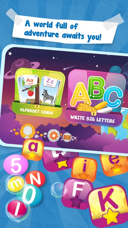 Universe of Alphabet & Numbers