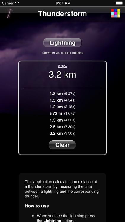 Thunderstorm Calculator screenshot-4