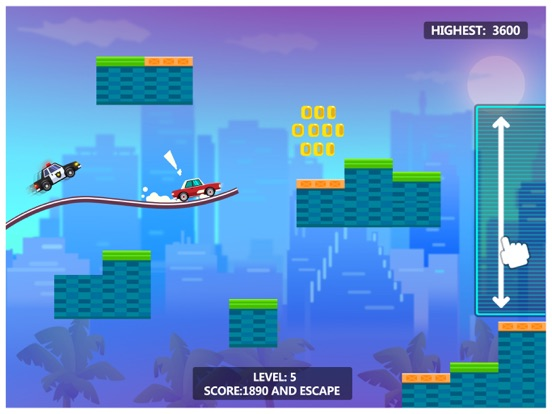 iPad Image of Sky Escape - Car Chase