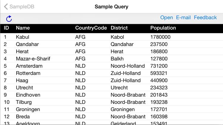 MySQL QueryDB SSH Client screenshot-4