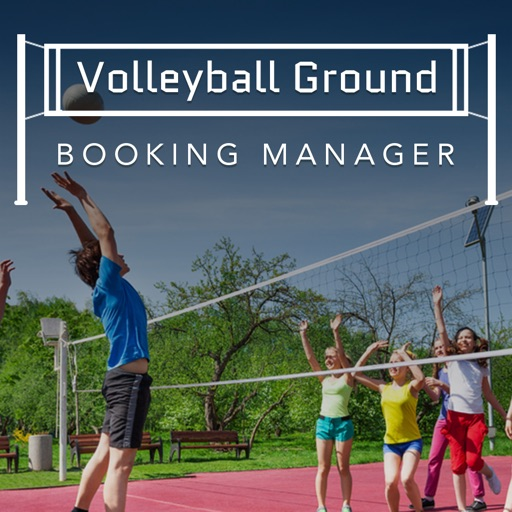 Volleyball Ground Manager app logo
