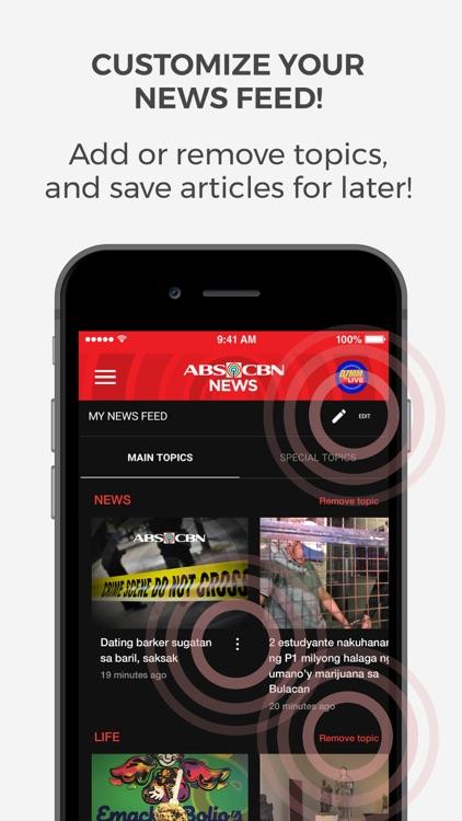 ABS-CBN News screenshot-4