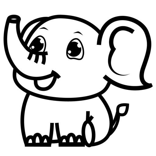 萌萌的呆象