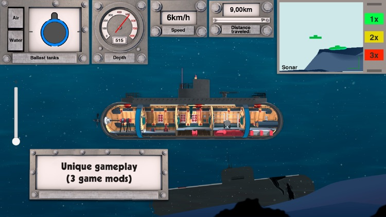 Nuclear submarine: battleships screenshot-2