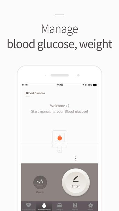 Blood Pressure(BP) Diary screenshot