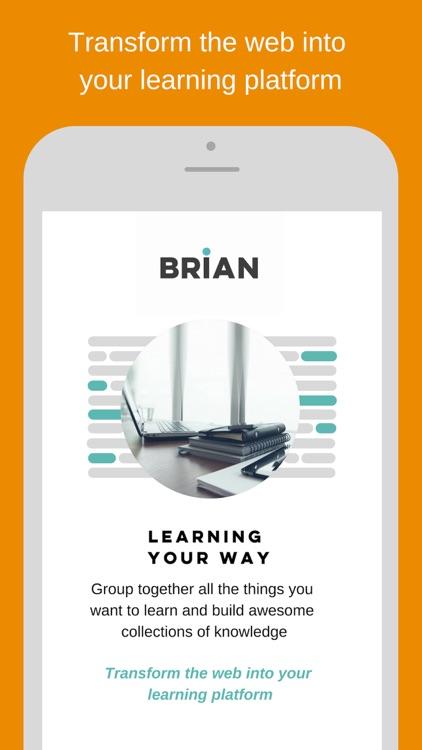Brian : Achieve your goals screenshot-6