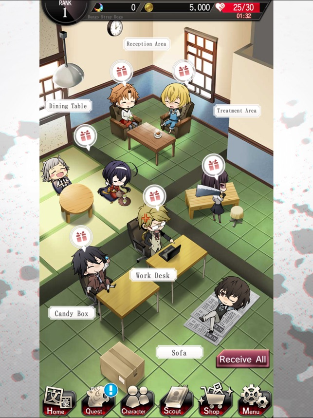 Bungo Stray Dogs: TotL on the App Store