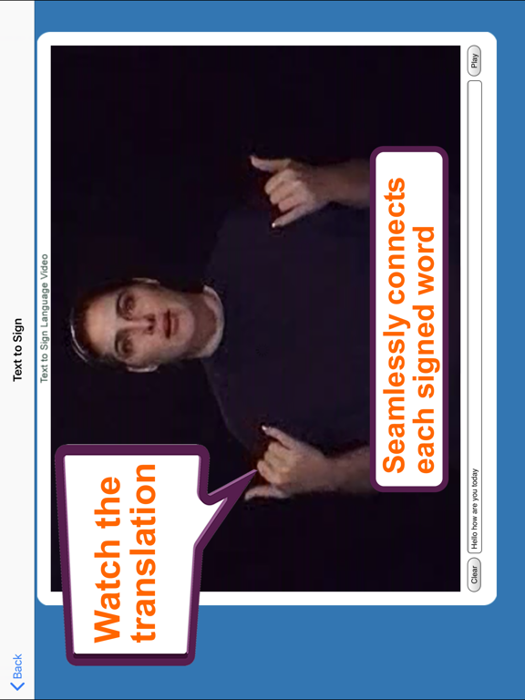 ASL Translator screenshot