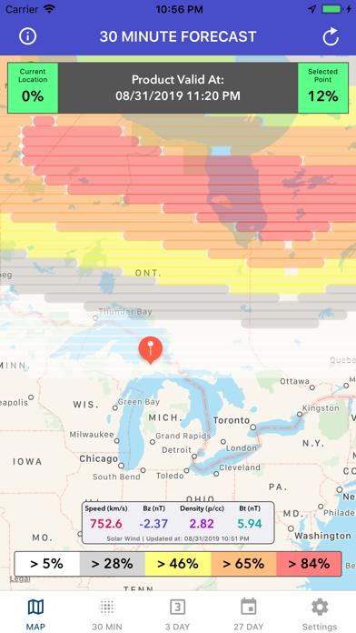 Aurora Forecast & Alerts screenshot 5
