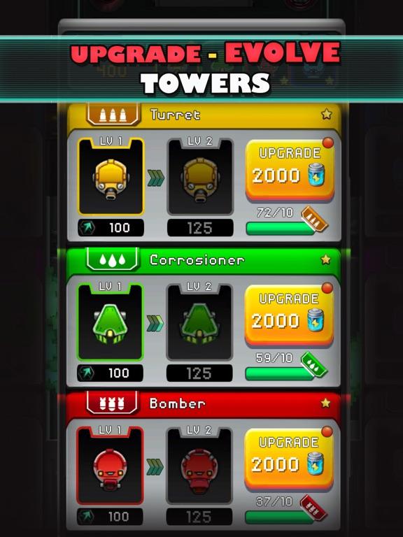 Cybershock : TD Idle & Merge screenshot 11