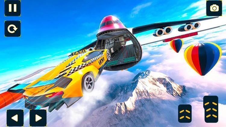 Ramp Car Jump: Sky Escape