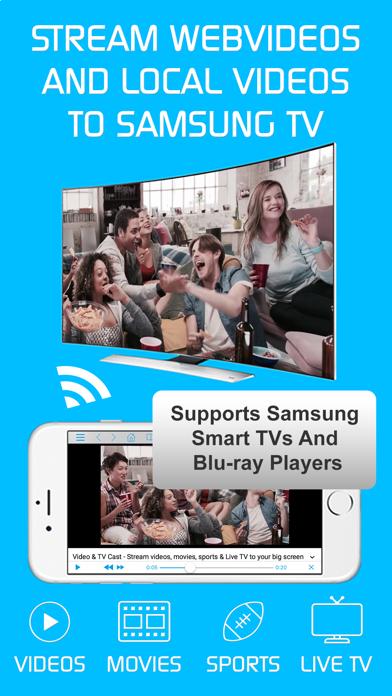 Baixar Video & TV Cast | Samsung TV para Android