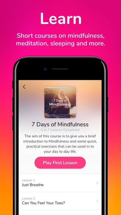 3 Minute Mindfulness screenshot-6