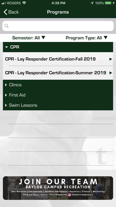 BU CampusRec screenshot three