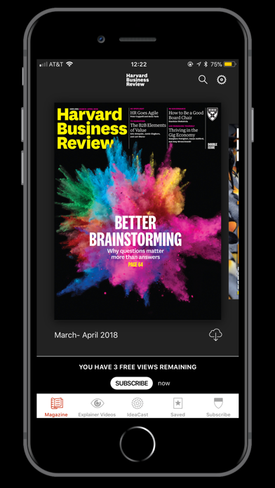 HBR Global Screenshot