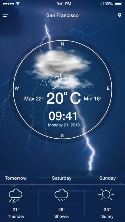 Dark Weather - The Weather App screenshot-5