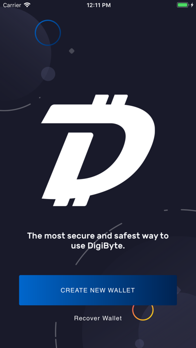 DigiByte screenshot one