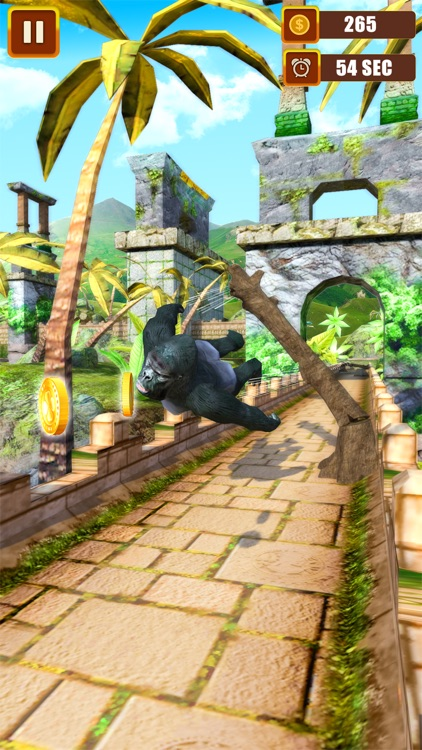 Flying Jungle Gorilla
