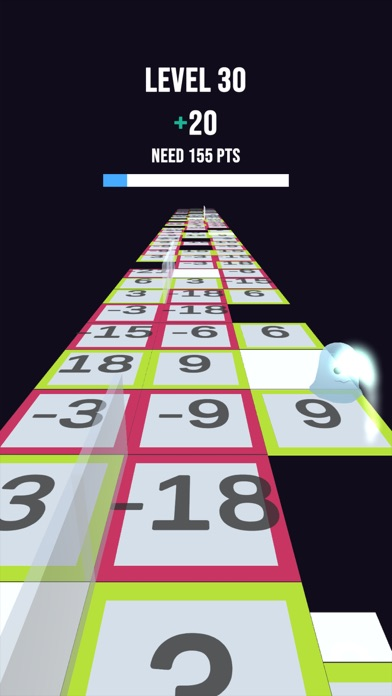 Number Tiles Jumper screenshot 4