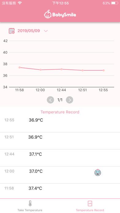 体温くん シースター体温計専用アプリのおすすめ画像4