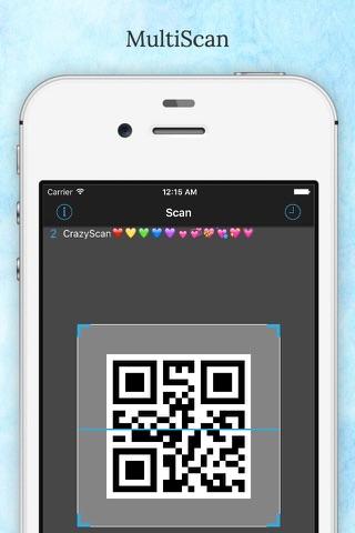 CrazyScan - QR Code Reader - náhled