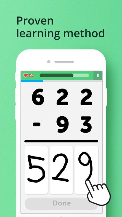 Math Learner: Learning Games screenshot-0