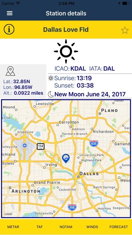 NOAA AWC Aviation Weather