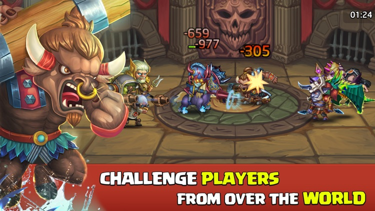 Heroes Legend: Idle Battle War screenshot-0