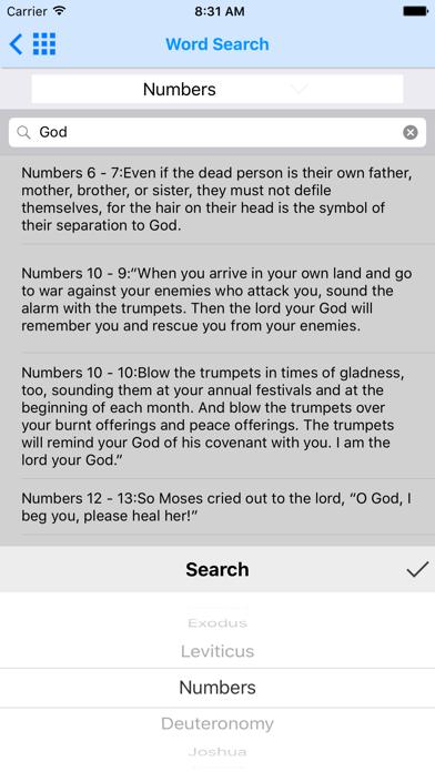 NLT Bible - OfflineScreenshot of 8