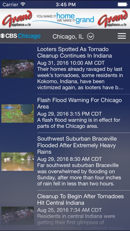 CBS Chicago Weather screenshot-4