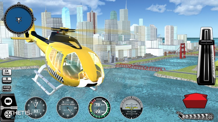 Helicopter Simulator 2017 screenshot-7