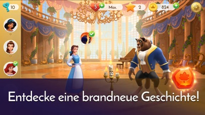 Herunterladen Disney Princess Majestic Quest für Android