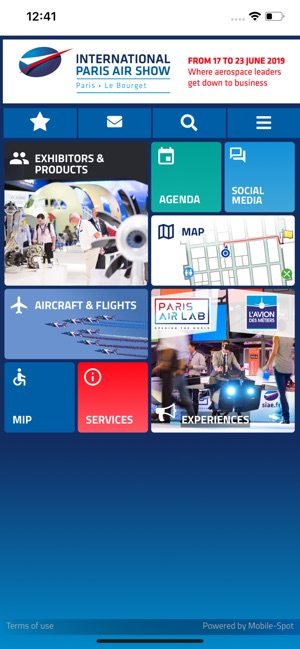 Paris Air Show on the App Store