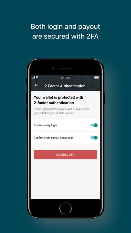 Lisk Wallet by Freewallet screenshot-4