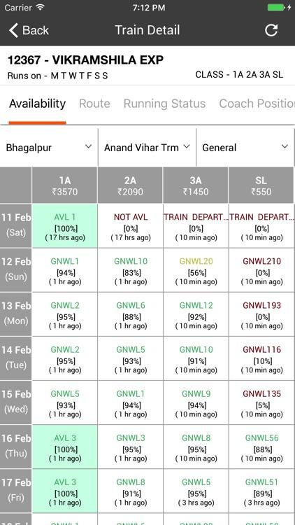 Trainman PNR Status Prediction screenshot-3
