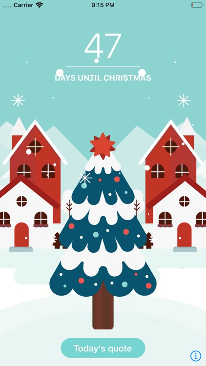 Christmas Countdown & Quotes