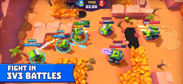 Mod Game Tanks A Lot - 3v3 brawls for iOS