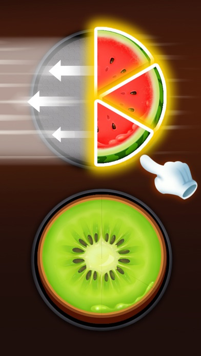 Food Circle:Fun Cooking Games Screenshot on iOS