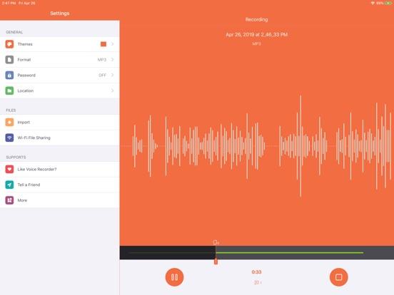 Voice Recorder HD + Screenshots