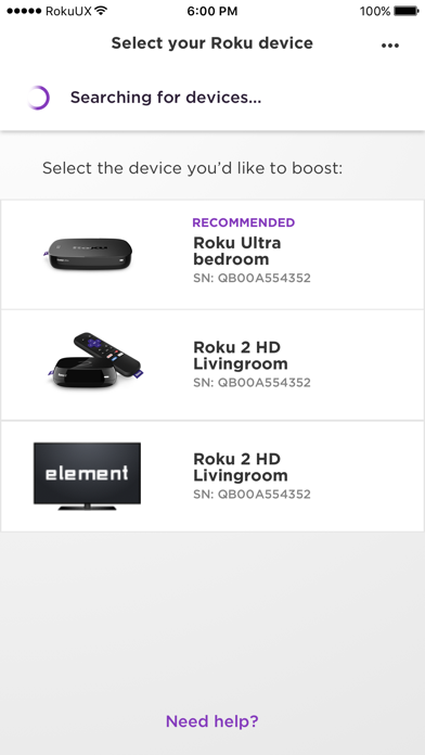 Roku Relay screenshot 2
