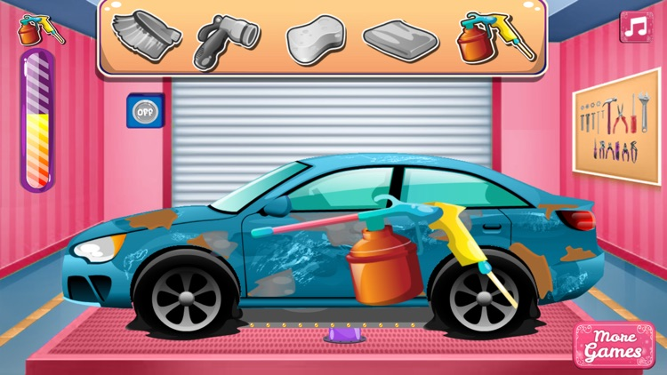 Clean Car Wash Game And Repair screenshot-5