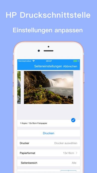Screenshot for Printsmart-hp epson drucker in Austria App Store