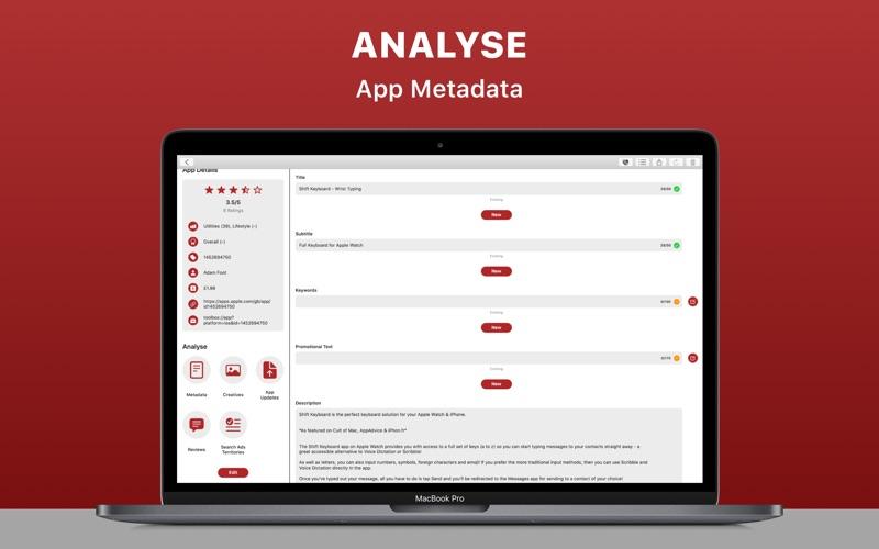 Redbox Toolbox: ASO Analytics for Mac