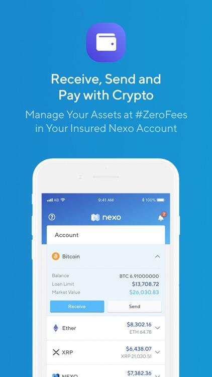 Nexo - Crypto Banking Account screenshot-6