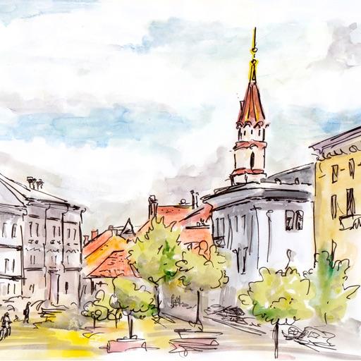 Vilnius 2020 — offline map