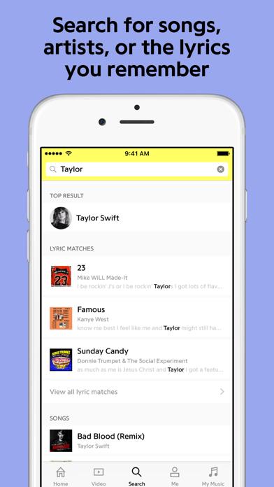 Genius: Song Lyrics & More Screenshot on iOS
