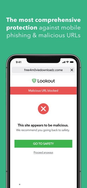 Lookout on the App Store