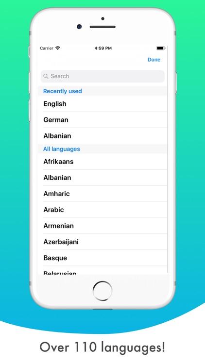 Translate More - Translator screenshot-3