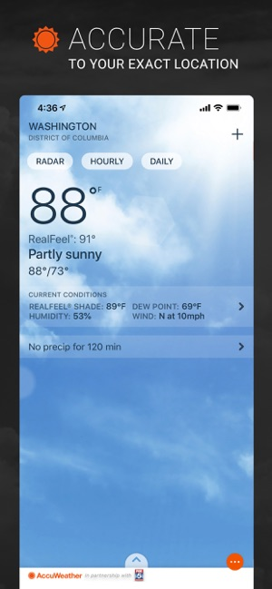 AccuWeather: Weather Alerts Screenshot